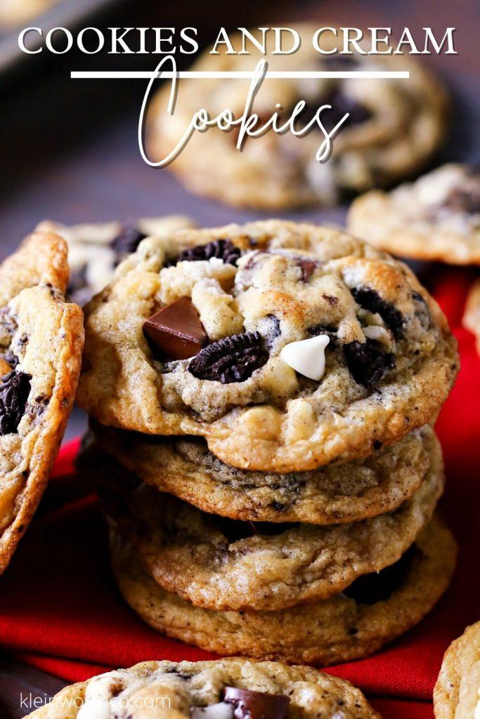 Cookies and Cream Cookies