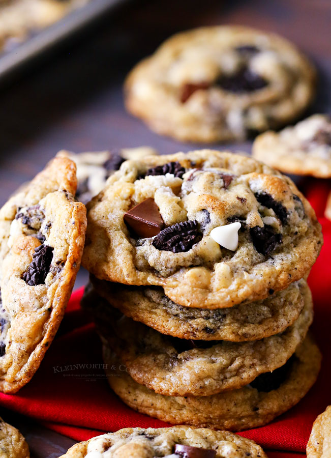 recipe for Cookies and Cream Cookies