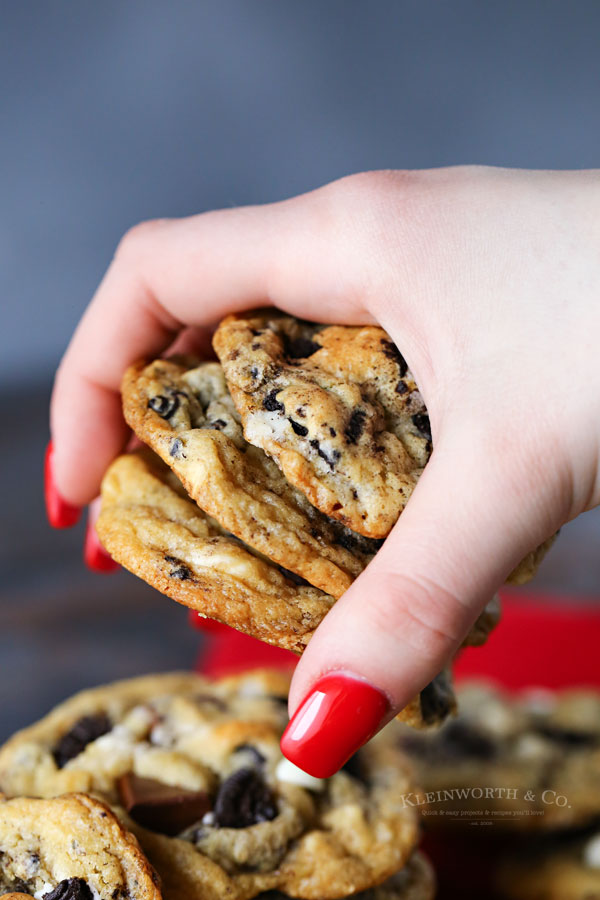 cookies with oreos