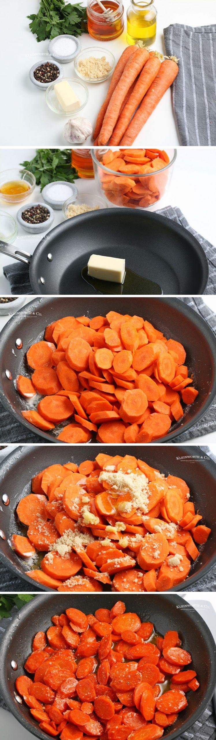 how to make Honey Glazed Carrots