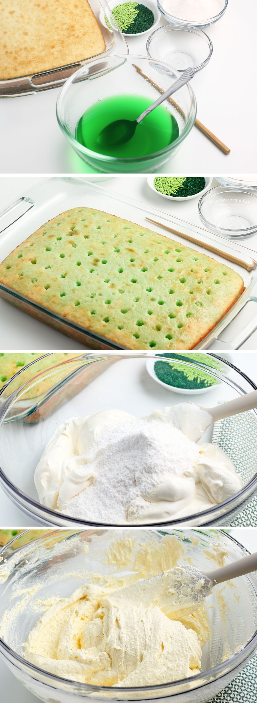 How to make Jello Poke Cake part 2