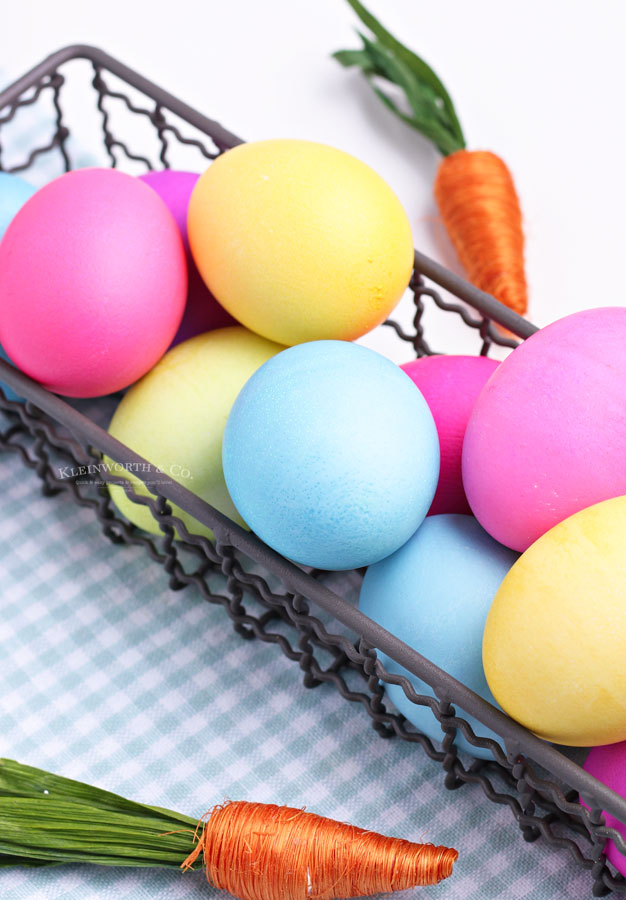 holiday eggs - colorful