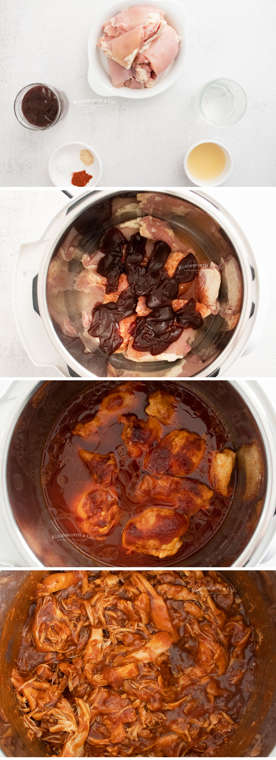 how to make Instant Pot BBQ Chicken