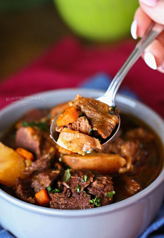 pressure cooker stew