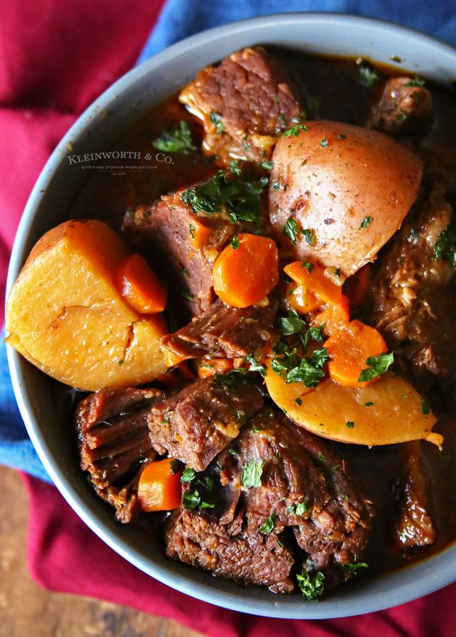 stew meat instant pot