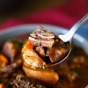 beef stew recipe instant pot