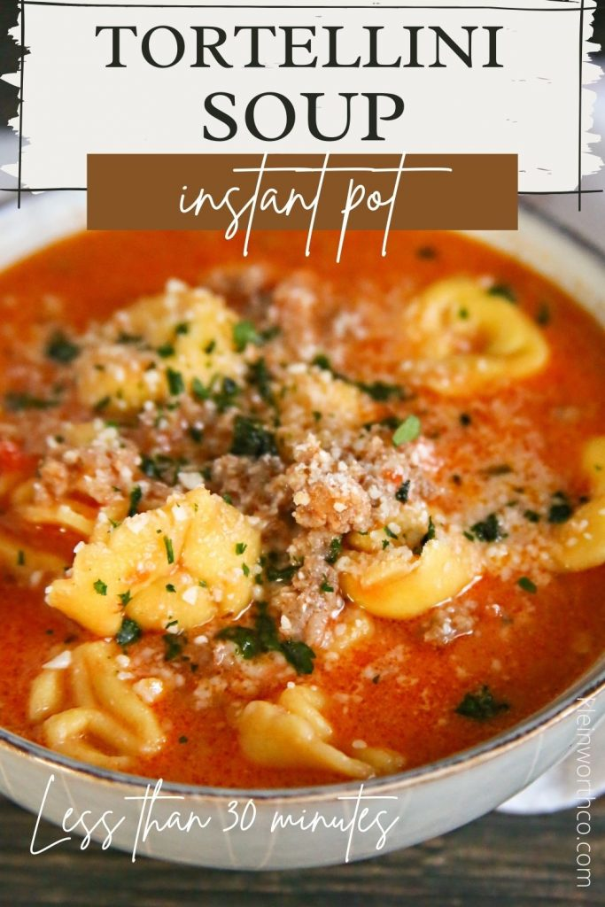 The best Sausage Tortellini Soup