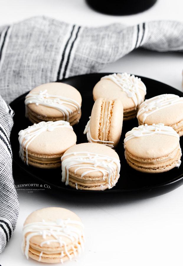 boozy Macarons
