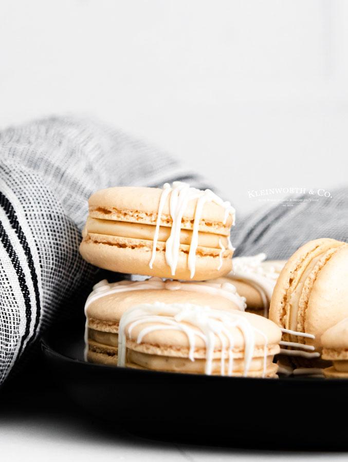 holiday Irish Cream Macarons