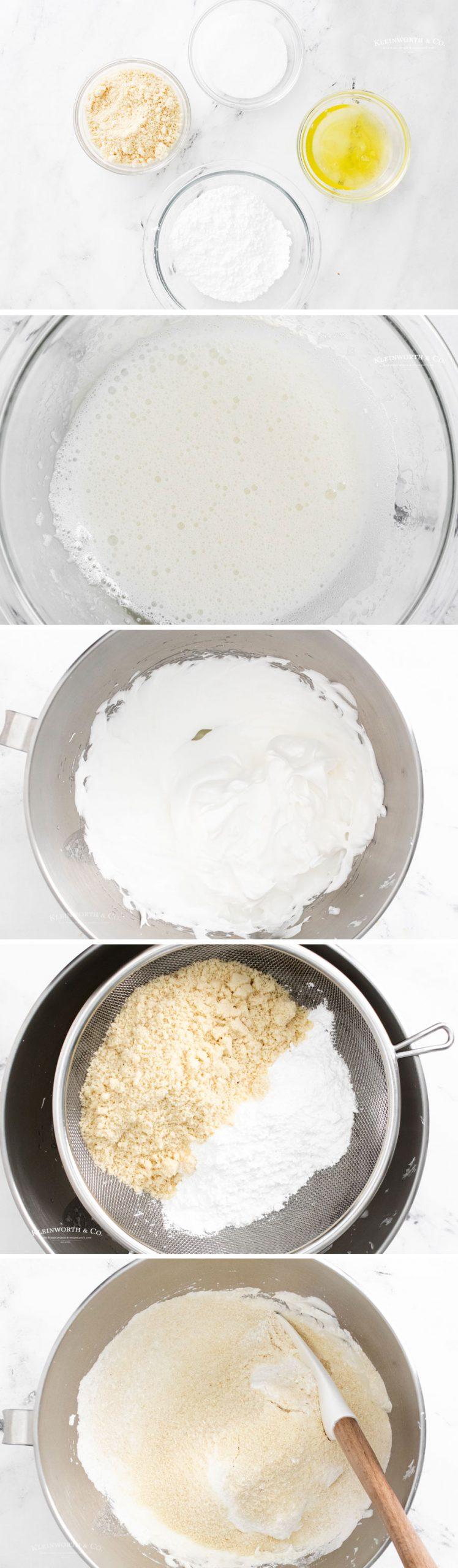 how to make Irish Cream Macarons 1