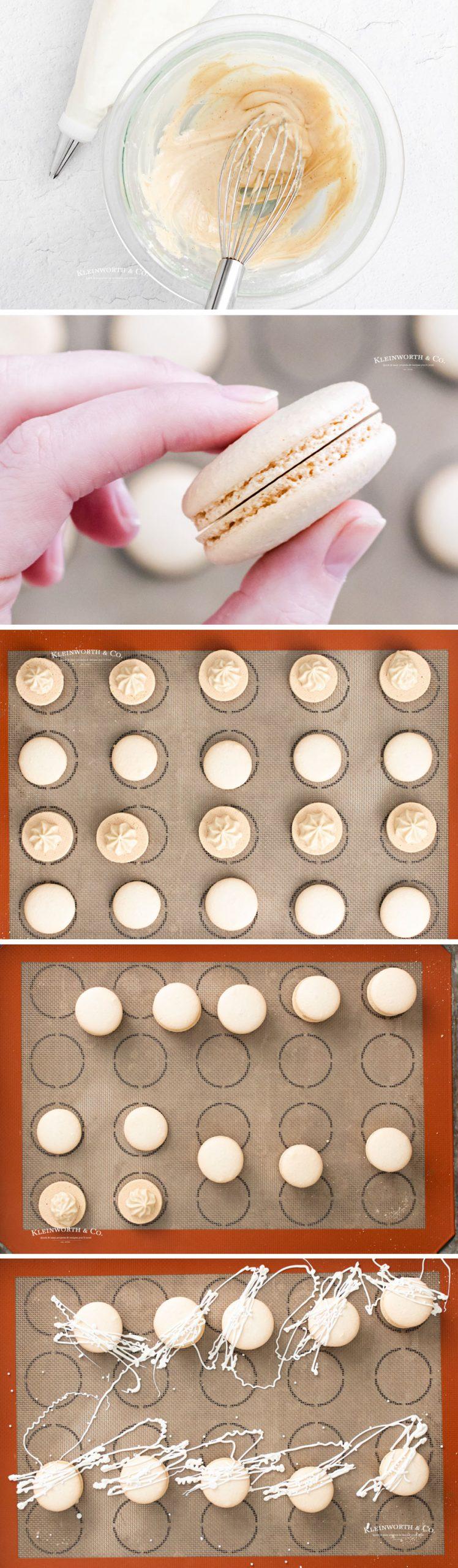 how to make Baileys Macarons