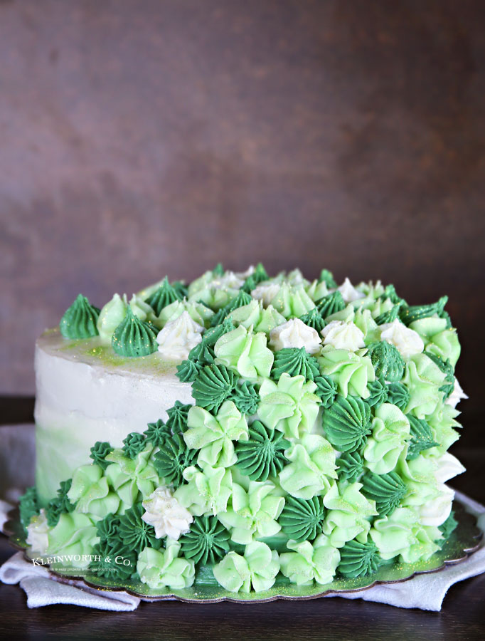 recipe for Mint Chocolate Chip Cake