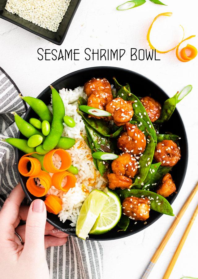 Sesame Shrimp Recipe