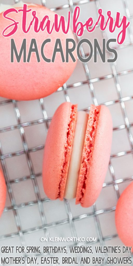 Strawberry Macaron Recipe
