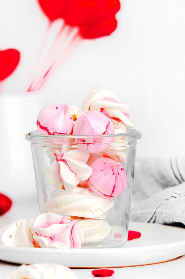 Valentine's Day Meringues