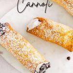 Air Fryer Cannoli