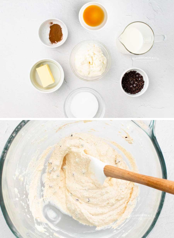 how to make cinnamon cannoli filling