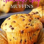 JUMBO Bakery-Style Chocolate Chip Muffins