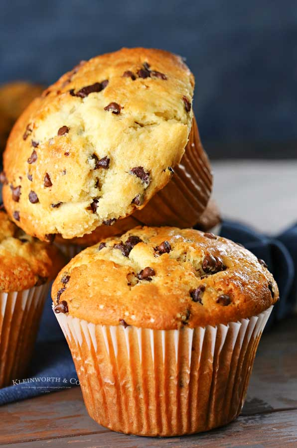 muffins - chocolate chip