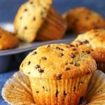 JUMBO Bakery-Style Chocolate Chip Muffins Recipe