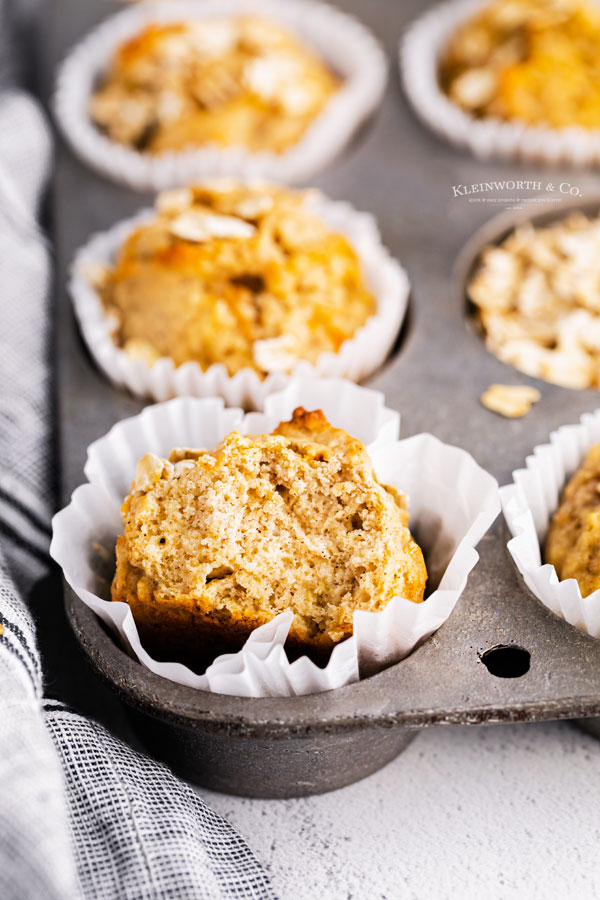 recipe for Banana Carrot Muffins