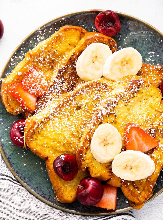 confectioners sugar - breakfast