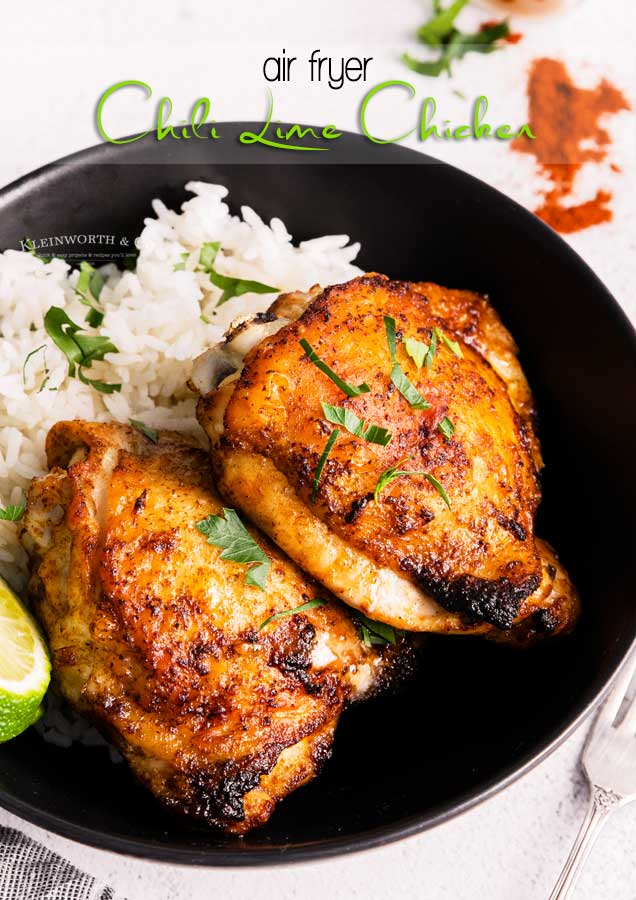 Chili Lime Chicken - Air Fryer