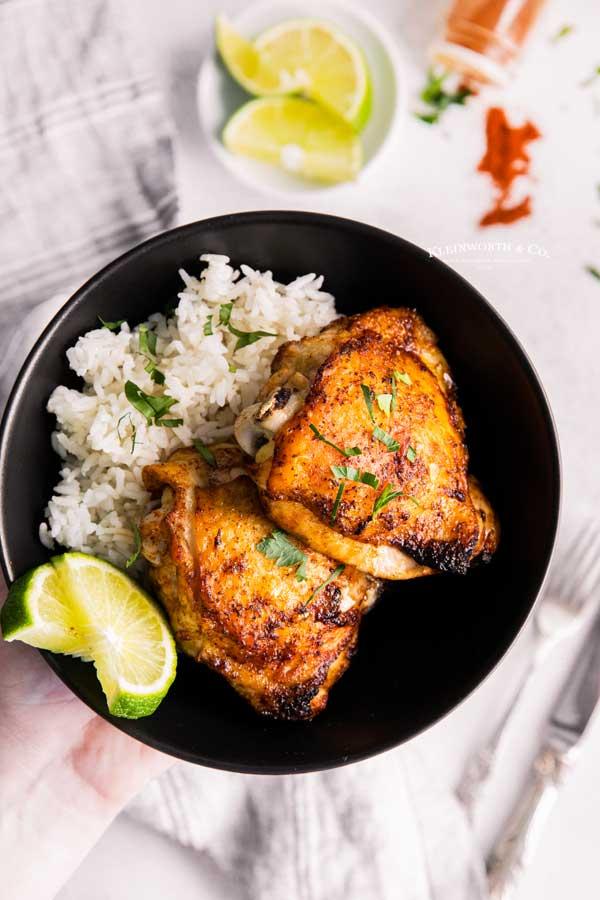 crispy chili lime chicken