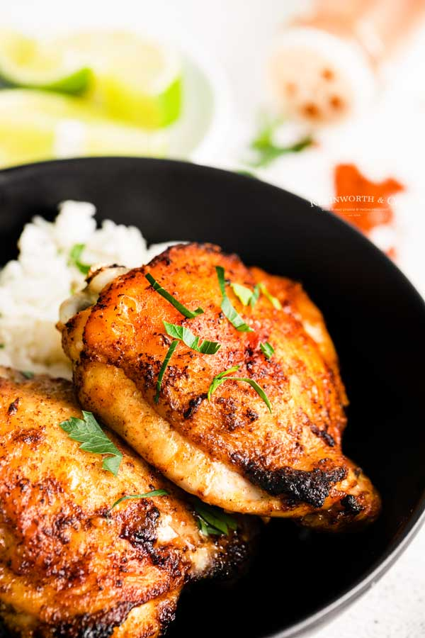 Chili Lime Chicken - Air Fryer Recipe