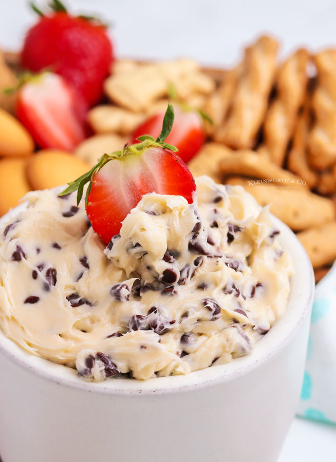 no bake Cookie Dough Dip