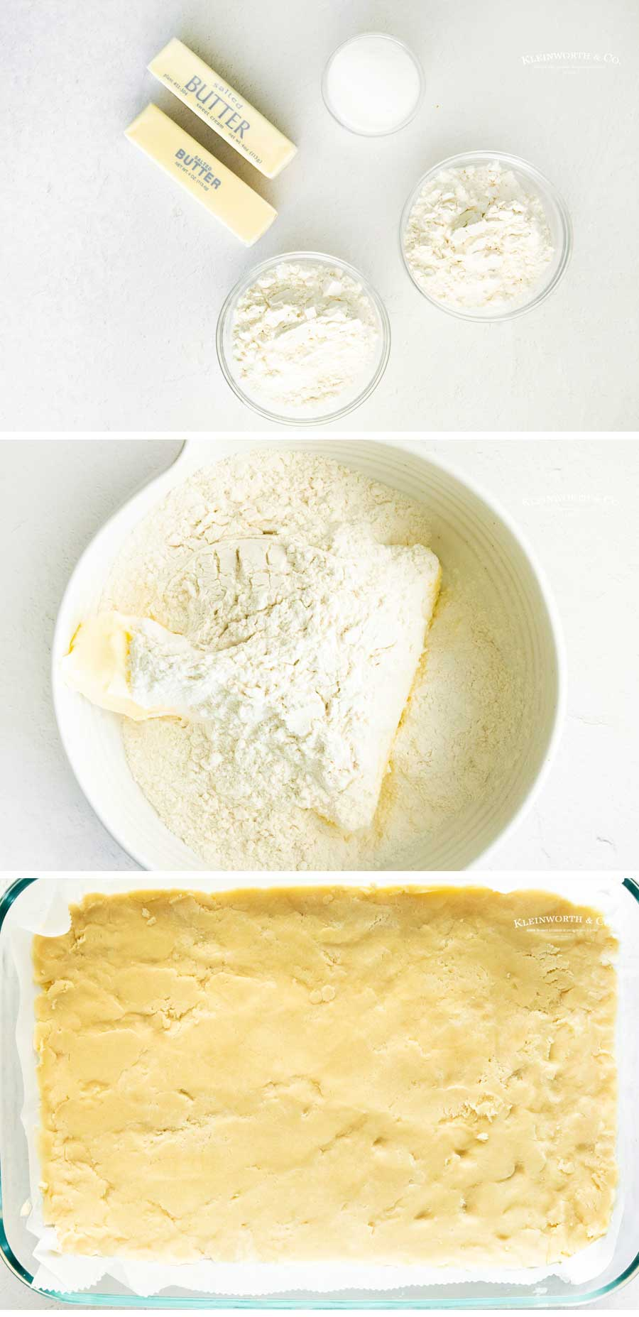 how to make lemon bar crust