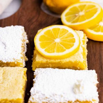 lemon bars from scratch