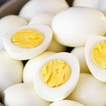 perfect peel hard eggs