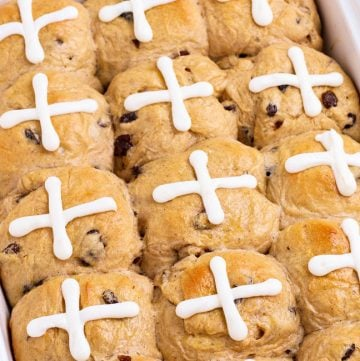 cross rolls with icing