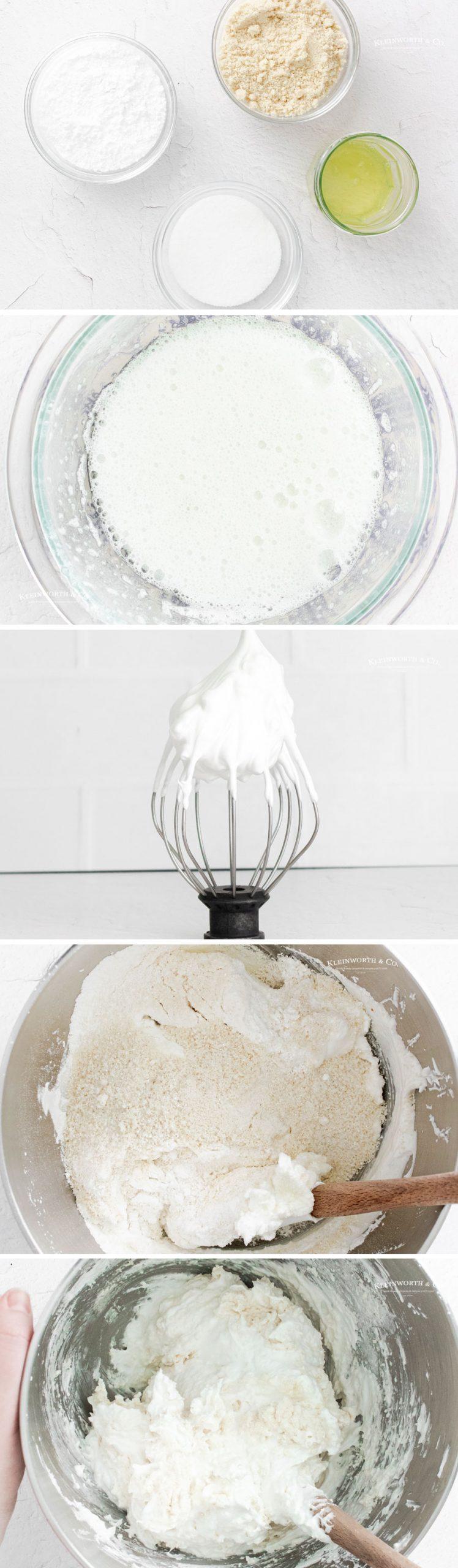 how to make Vanilla Bean Macarons 1