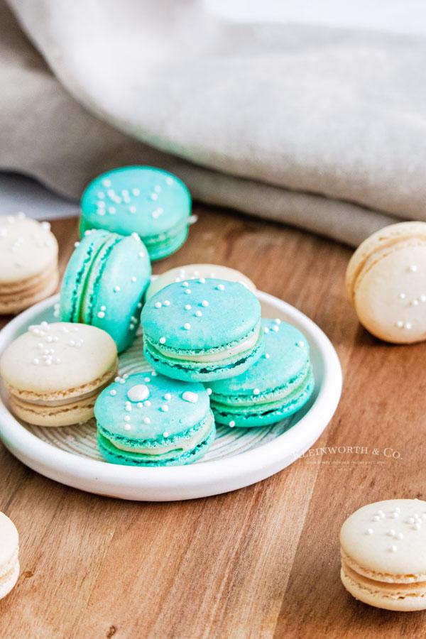 recipe for Vanilla Bean Macarons
