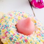 strawberry hershey kiss cookies