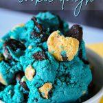 Cookie Monster Cookie Dough