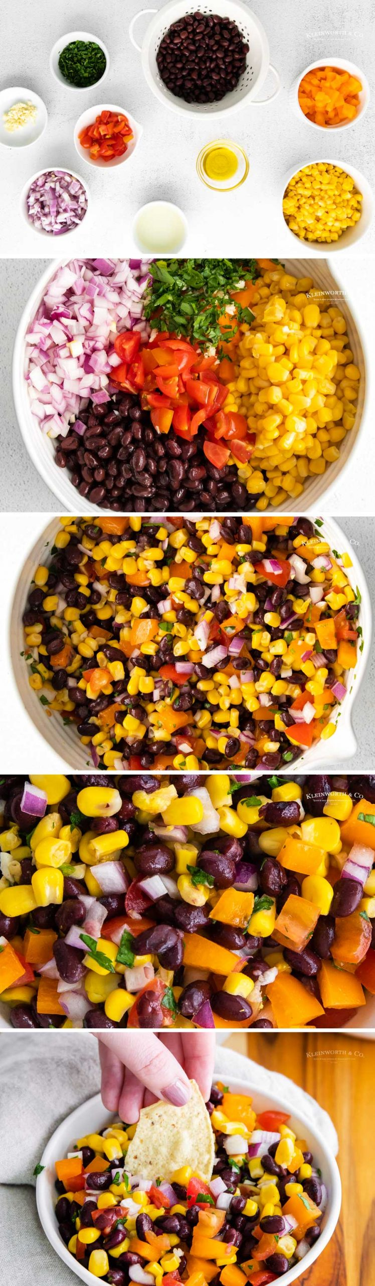 How to make Corn and Black Bean Salsa
