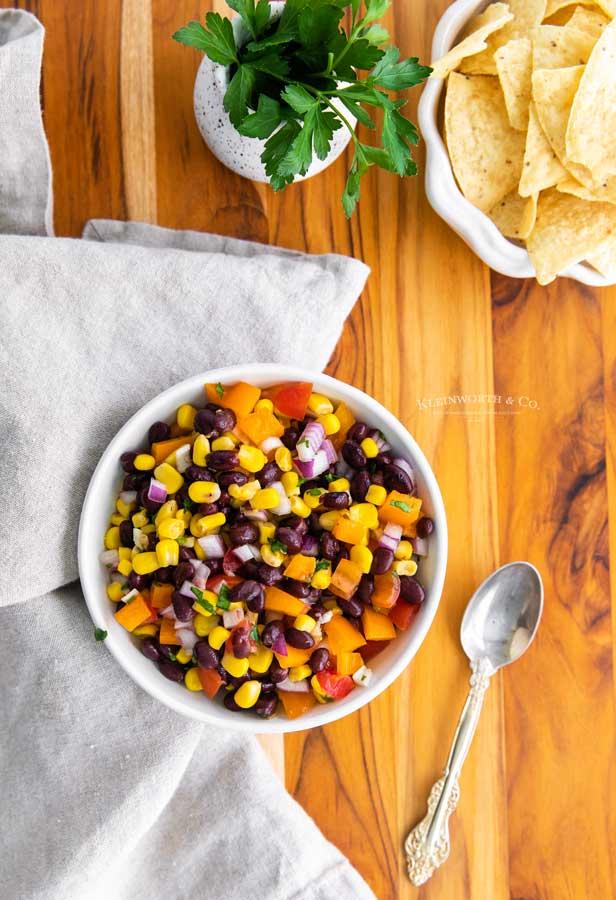appetizer Corn Black Bean