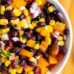corn bean salsa