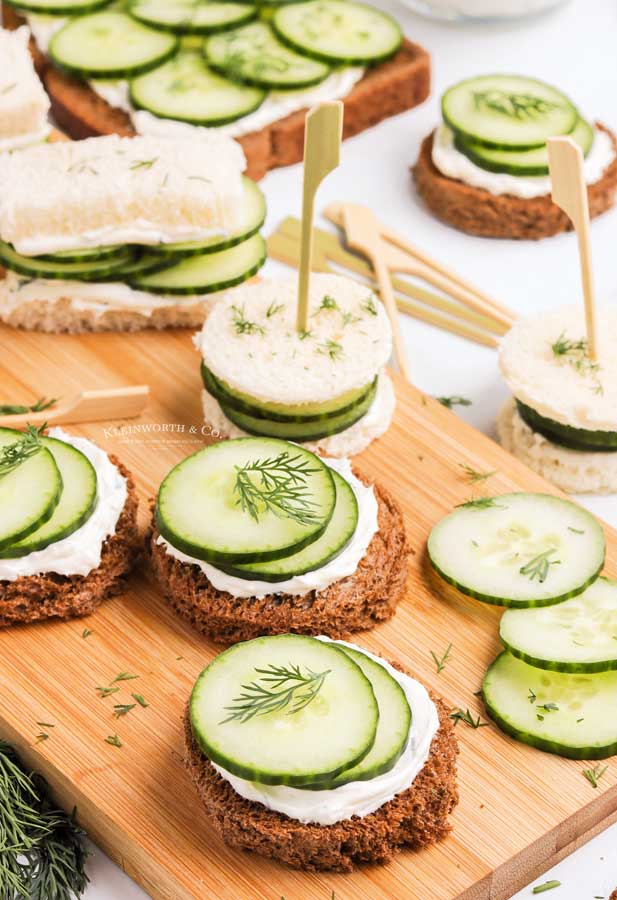 party food Cucumber Sandwich