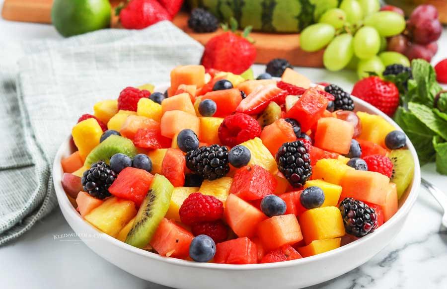 dressing for fruit salad