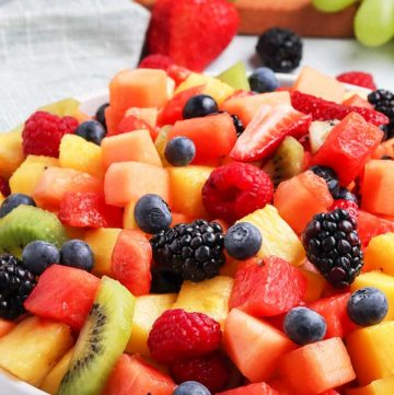 recipe for Fruit Salad