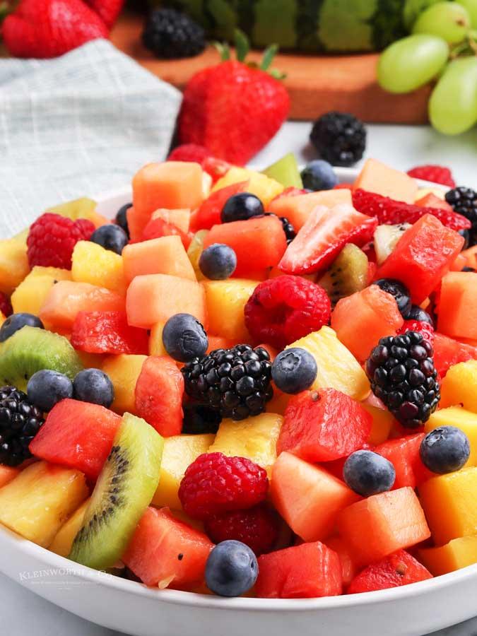 recipe for Fruit Salad
