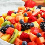 summer salad fruit