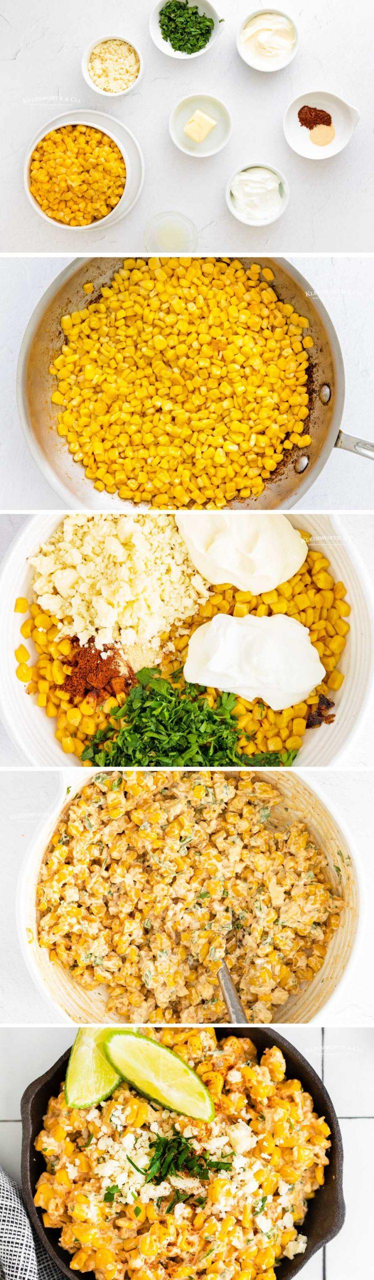 how to make Elote Street Corn Dip