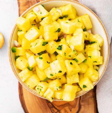 recipe for Pineapple Salsa / Mango Salsa