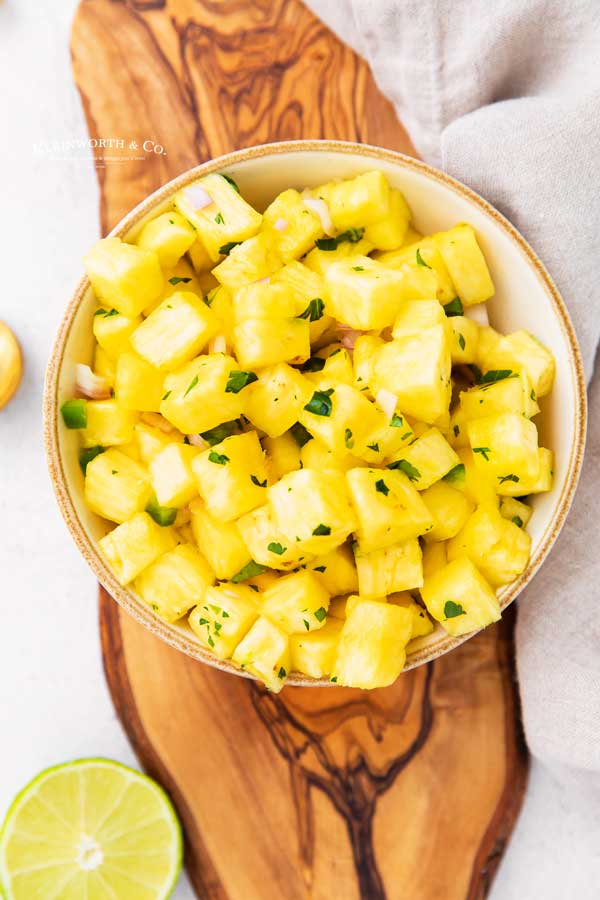 recipe for Pineapple Salsa / Mango Salsa