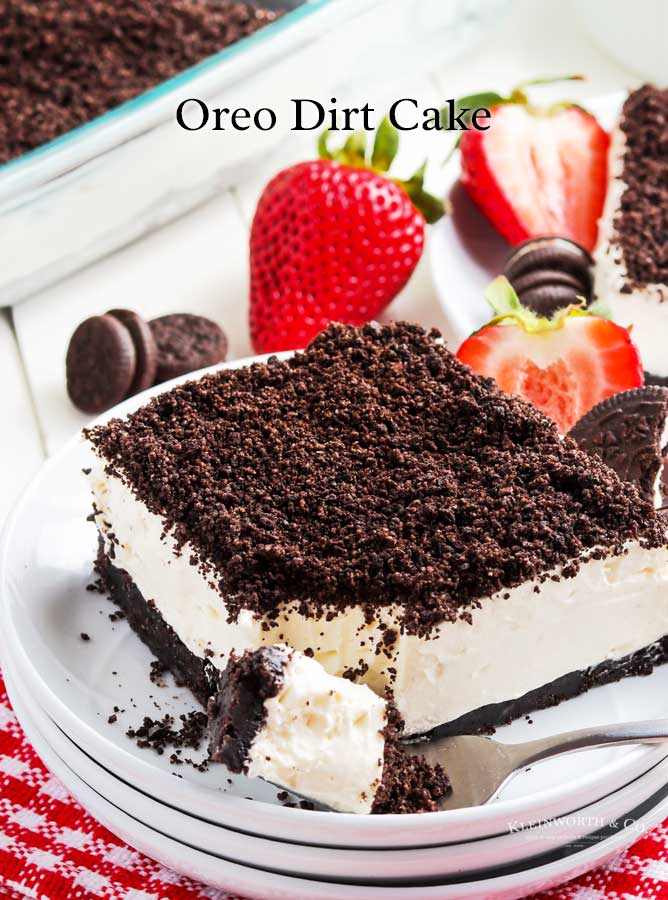 Oreo Dirt Cake Recipe